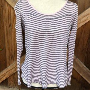 Striped Roxy Thermal Shirt